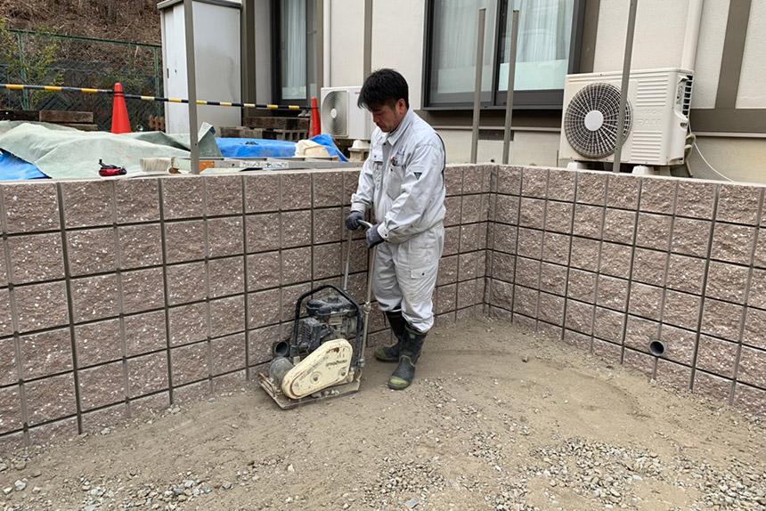 神戸市西区U様邸の施工中写真14