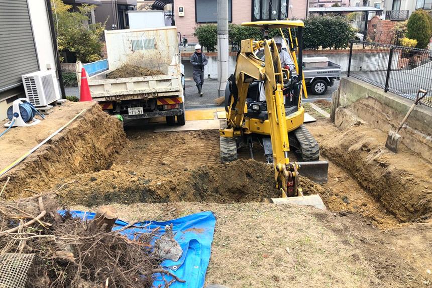 神戸市西区U様邸の施工中写真26
