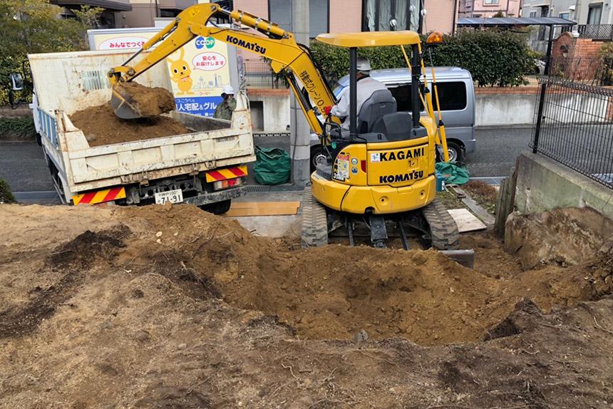 神戸市西区U様邸の施工中写真27