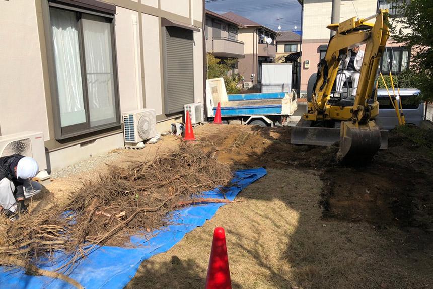 神戸市西区U様邸の施工中写真28