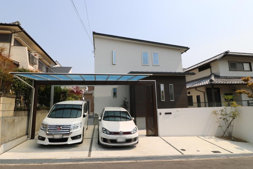神戸市須磨区 I様邸の施工中写真1