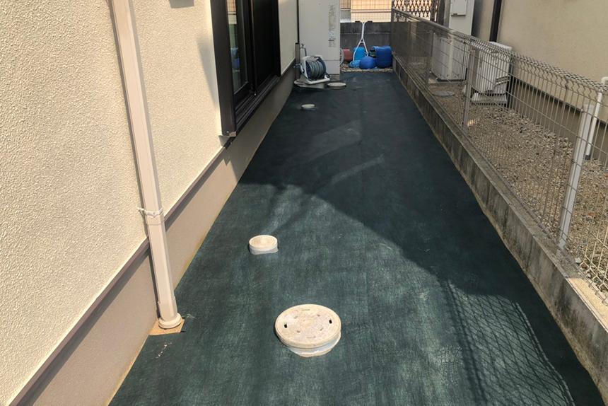 神戸市西区 U様邸の施工中写真2