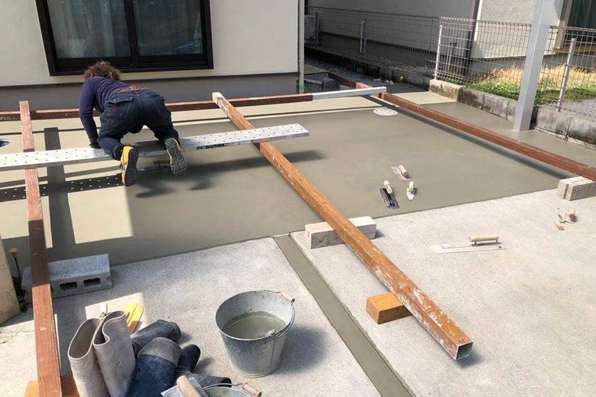 神戸市西区 U様邸の施工中写真3