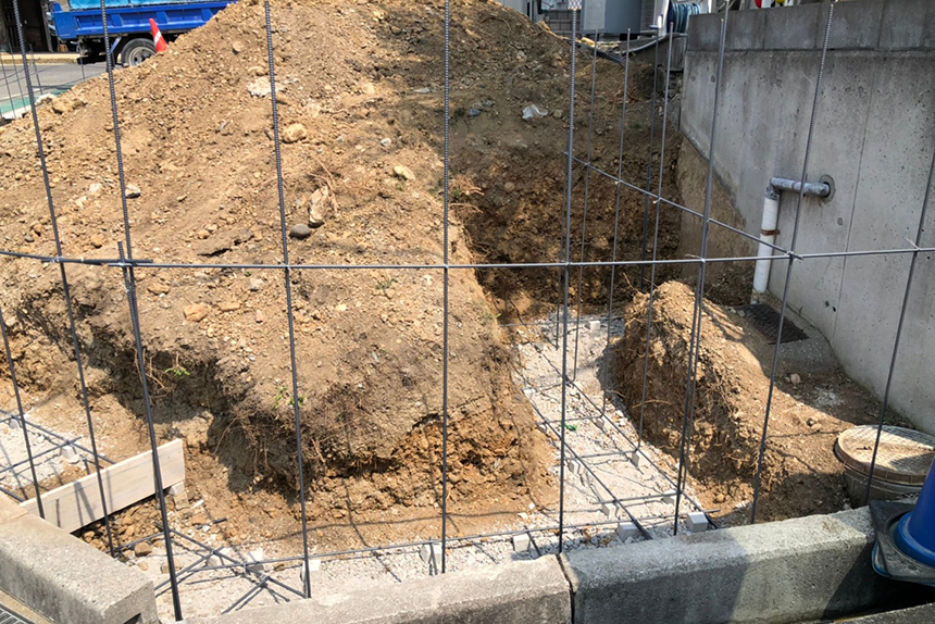 神戸市西区 U様邸の施工中写真4