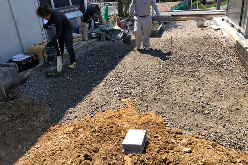 神戸市西区 U様邸の施工中写真10