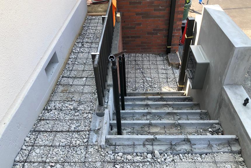 神戸市西区 T様邸の施工中写真15