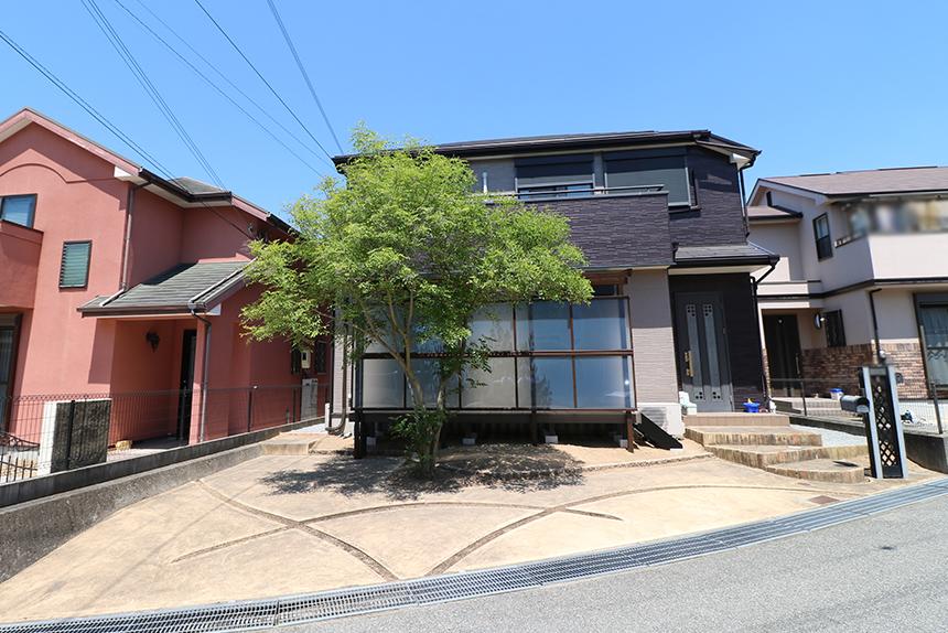 神戸市須磨区 W様邸の施工中写真1