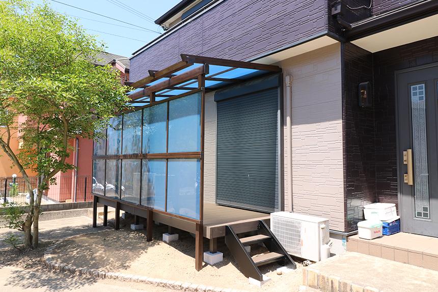 神戸市須磨区 W様邸の施工中写真2