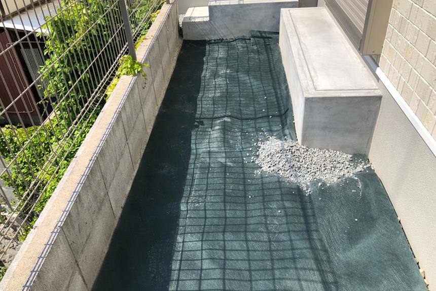 神戸市垂水区 S様邸の施工中写真4