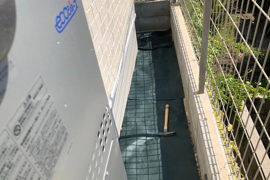 神戸市垂水区 S様邸の施工中写真5