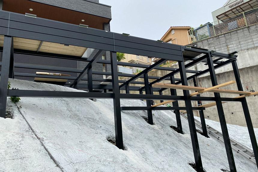 神戸市須磨区O様邸の施工中写真7