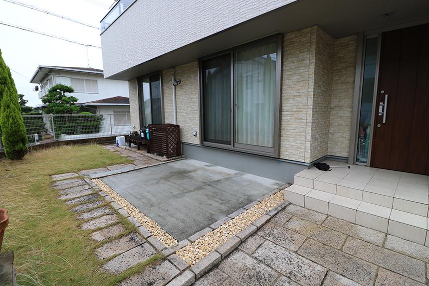 神戸市垂水区 K様邸の施工中写真6