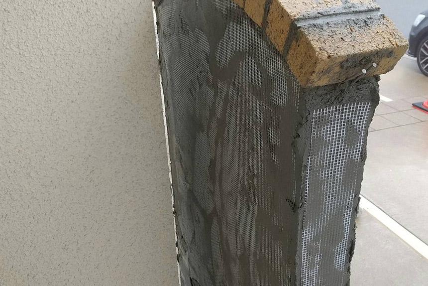 神戸市北区 Y様邸の施工中写真1