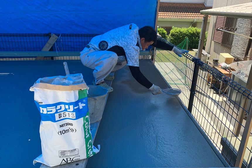 神戸市垂水区 U様邸の施工中写真9