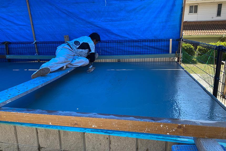 神戸市垂水区 U様邸の施工中写真10