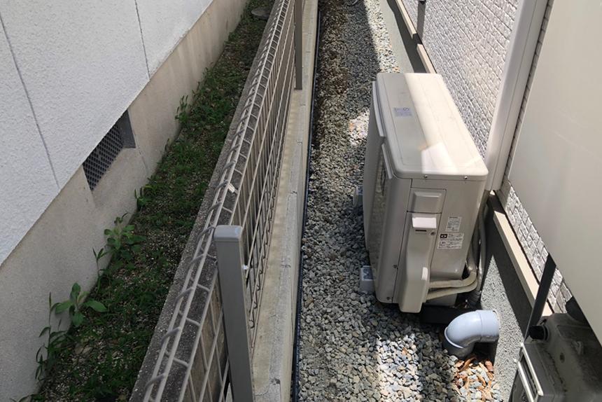 神戸市西区K様邸の施工中写真4