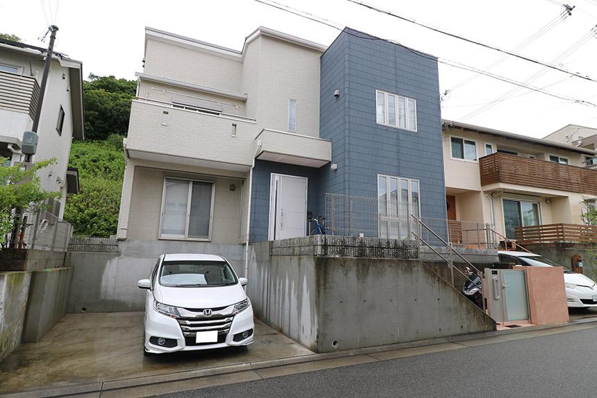 神戸市垂水区 N様邸の施工中写真1