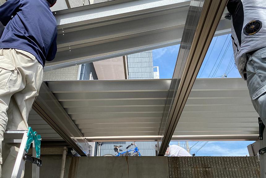 神戸市垂水区 N様邸の施工中写真4