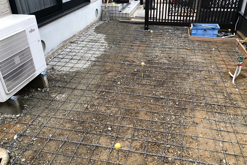 神戸市西区 Y様邸の施工中写真