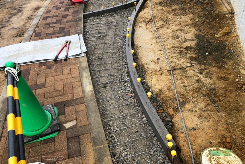 神戸市垂水区 A様邸の施工中写真